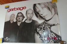 GARBAGE ORIGINAL POSTER UNIVERSAL MUSIC COLOMBIA 2002