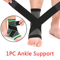 Adjustable Ankle Brace Support Compression Sleeve Pain Relief Elastic Foot Wr I2