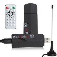DVB-T Digital USB TV FM+DAB Radio Tuner Stick Realtek RTL2832U+R820T Receiver&&