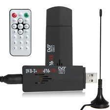 DVB-T Digital TV USB FM + DAB Radio Tuner Stick Realtek rtl2832u+r820t Receiver