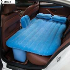 Car Back Seat Cover Car Inflatable Air Mattress Travel Bed Blue