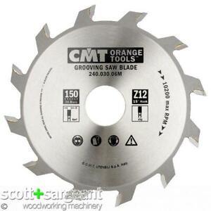CMT 240 Grooving sawblade D=150 d=30 B=5 z=12  | Price is Inc VAT@ 20%