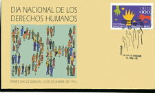 Chile 1992 FDC National Day of Human Rights