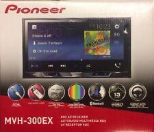 Pioneer MVH-300EX RDS AV Receiver AUX/USB/BT NEW