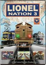 Lionel Nation No 3 DVD train video NEW Sealed
