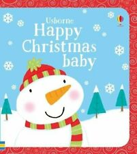 Happy Christmas Baby (Very First Words) by Fiona Watt Book The Cheap Fast Free