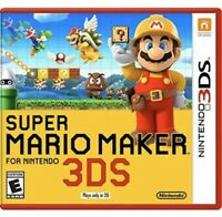 Super Mario Maker Nintendo 3DS Kids Game 1