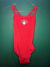 One Piece Lifeguard Swimsuit, Size: Large