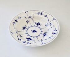 VINTAGE ROYAL COPENHAGEN BLUE FLUTED PLAIN RIMMED SOUP PLATE 168