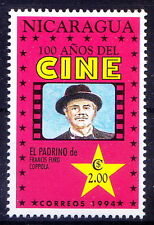 Nicaragua  MNH, El Padrino De, The Godfather,  American film by Francis Ford Cop