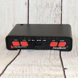 FEDERAL SIGNAL 331105-SB SIGNALMASTER LIGHT BAR CONTROLLER - FREE SHIPPING