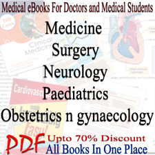 Medicine Surgery Neurology Paediatrics Anatomy 30+ medical Subjects PDF EBooks