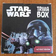 Star Wars Trivia Box 2017