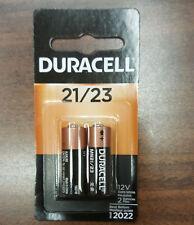 2pack MN21 New Batteries Duracell 23A A23 12Volt 21/23