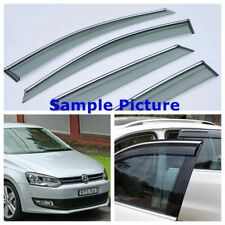 Volkswagen Polo Mk5 5DR 2015-2016 Wind Deflectors Window Visor Sun Rain Shield