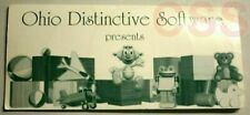 Ohio Distinctive Software Cd 4 Educational Computer Games Kids Preschool Vintage