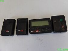Lot Of (4) All Safe Pagers- For Parts Or Repair/ Untested
