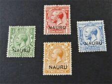nystamps British Nauru Stamp # 1//5 Mint OG H / Used $22