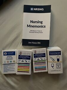 RN BUNDLE: Cathy Parkes 2018 - Level Up RN Medical Surgical Flash Cards