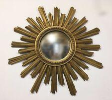 Ancien Miroir de sorcière des Années 70's Vintage  Soleil   no CHATY Vallauris *