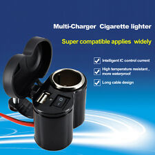Waterproof FEYCH Motor Electric Bike Cell Phone Multi-Charger Cigarette Lighter