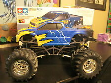 Vintage Tamiya TXT-1 RC 4WD 4WS Monster Truck #58280 Super Rare! w/Box!