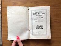 ANTICO LIBRO INDICATORE GENERALE MILITARE GUERRA L' ANNO 1844 MATTEO DHO TORINO
