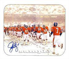 Item#769 John Elway Facsimile Autographed Denver Broncos Mouse Pad
