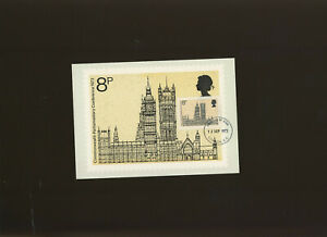 1973 Parliament with London EC FDI handstamp on front. Unaddressed. Cat £70