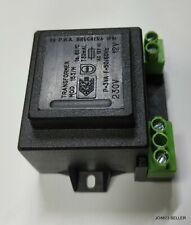 Encapsulated rete isolato 230V PCB power TRASFORMATORE 30VA 0-12V 0-12V output