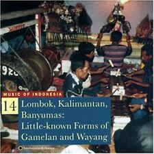 Music Of Indonesia 14 (1997, CD NEU) Lombok/Kalimantan/Banyumas
