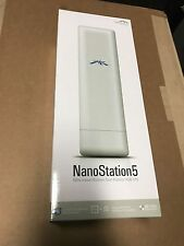 Ubiquiti NanoStation5 NS5 5GHz Indoor/Outdoor Dual-polarity 14dbi cpe