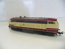 MÄRKLIN 30747 DIESELLOK BR 218 ROT/BEIGE TEE der DB  P704