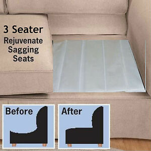 Anti Sag 3 SOFA REJUVENATOR Board Triple Seater ARMCHAIR Sagging Support