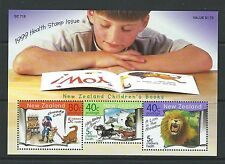 NEW ZEALAND 1999 HEALTH CHILDREN'S BOOKS MINIATURE SHEET UNMOUNTED MINT, MNH
