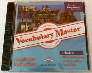 Learn Now! Transparent Language Learning Software Bonus CD Version 8 PC Mac