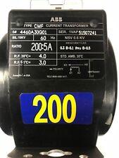 Abb Type Cmf Current Transformer Ratio 2005a
