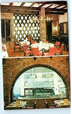 Culinary Institute of America Hyde Park New York Rabelais Bar Cafe Postcard B08