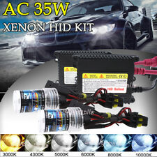 AC 35W XENON HID KIT LIGHT BLUBS 3K 43K 6K 8K H4 H7 H11 H13 9006 H1 H3 9005 9007