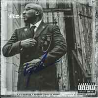 YOUNG JEEZY Signed Autographed CHURCH IN THESE STREETS CD Cover w/COA