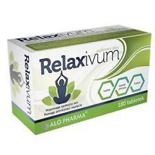 Relaxivum, 180 tablets reduces tension