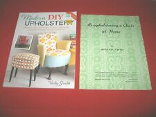 Upholstery & Re-Upholstery Book & Bulletin~Gd/Vgc~Lot#Sb-32