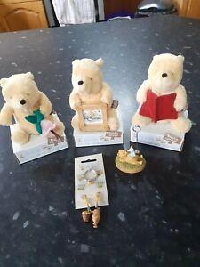 Winnie The Pooh Classic Pooh Golden Bear Bundle - NEW