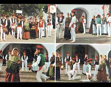 IBIZA (ESPAGNE) DANSE Typique avec ENFANTS costumés de SAN JOSE en 1980