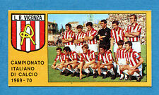 CALCIATORI PANINI 1969-70 - Figurina-Sticker - L.R. VICENZA SQUADRA -Rec
