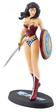 DC UNIVERSE ONLINE WONDER WOMAN STATUE By JIM LEE NEW! Maquette Bust Cover girl