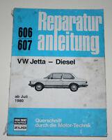 Reparaturanleitung VW Jetta I / 1 Diesel ab Baujahr 1980