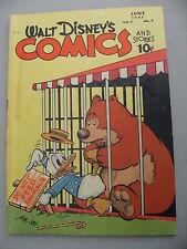 WALT DISNEY COMICS STORIES 81  VG+  Barks
