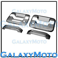 04-14 Ford F150 Triple Black Chrome 2 Door Handle+keypad+with PSG keyhole Cover