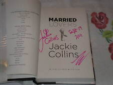Married Lovers by Jackie Collins    *Signed*